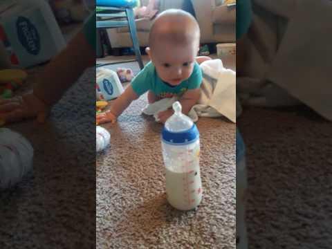 Learning to crawl forward