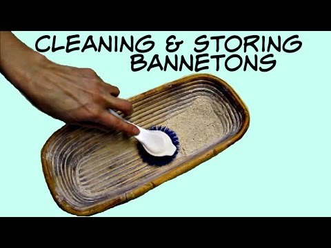Cleaning and Storing Your Banneton - Sourdough Baking Techniques