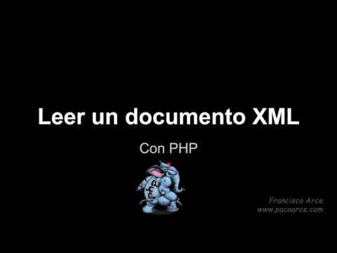 Utiliza PHP con XML y JSON
