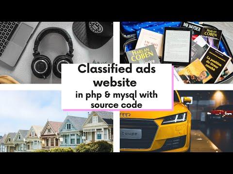 Classified ads website in PHP & mySql | Robot Balok