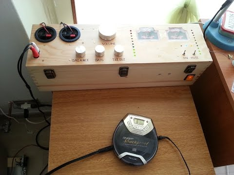 DIY audio amplifier aka Project Stereo