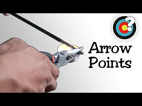Archery   Putting On and Removing Arrow Points