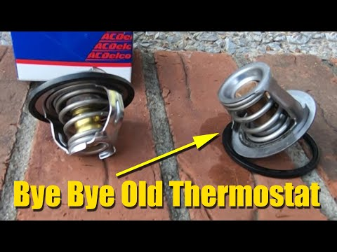 Replacing The Thermostat On My Saturn Sky