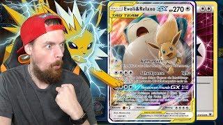 TAG TEAM GX VS. MEIN BLITZA DECK - Pokemon Trading Card Game Online Gameplay Deutsch