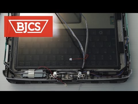 How to Replace the Panasonic Toughbook CF-19 MK2 Screen