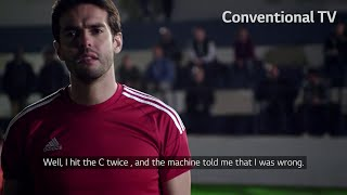 Behind the scenes with Kaká - LG Nano Cell Super Challenge
