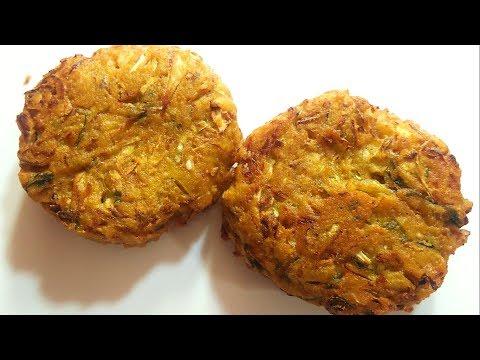 इस टेस्टी नाश्ते का स्वाद आपके मुहं से कभी नही उतरेगा - Cutlet Recipe - Snacks - Breakfast - Nasta