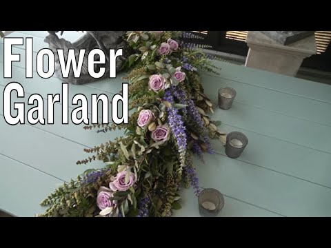 Tablescaping: Flower Garland