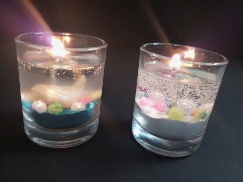 Gel Candles / DIY How to make Gel Candles