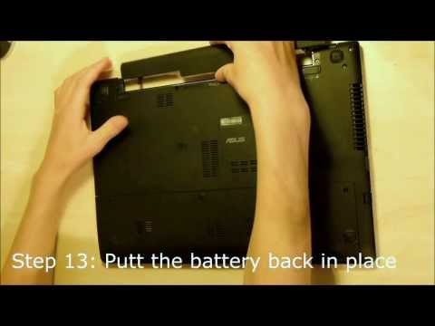 Asus S56 S56CA S56CB S56CM adding 2nd HDD / SSD using DVD / optical drive bay with HDD Caddy