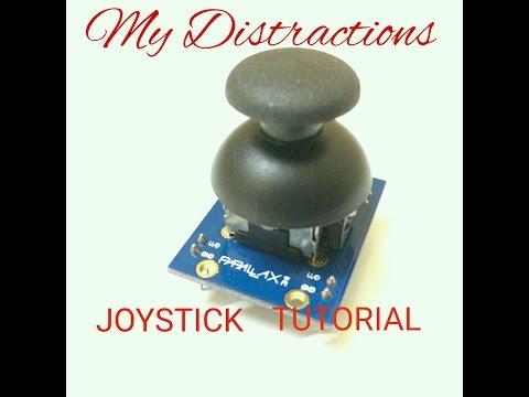 Home made RC Robot : Part I - Joystick Working Tutorial