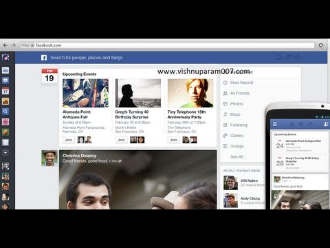 How to enable Facebook new look