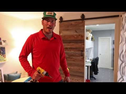 Barn Door Hardware | Sliding Barn Door Hardware Kit | Flat Track Doors