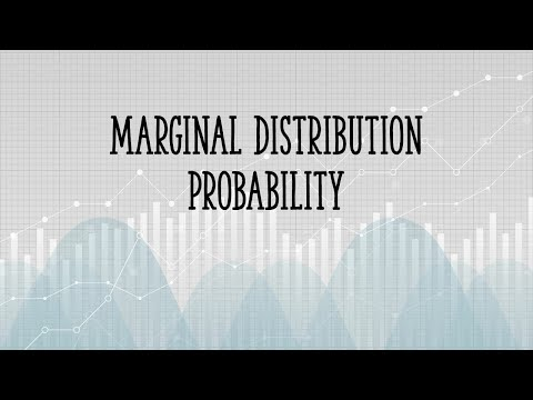 How to calculate marginal distribution probability