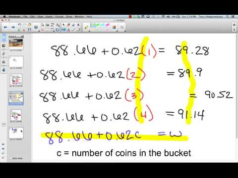 Finding Patterns and Solving Equations (Part 3)