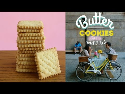 HOW TO MAKE REAL BUTTER COOKIES - PICNIC UNDER MANHATTAN BRIDGE