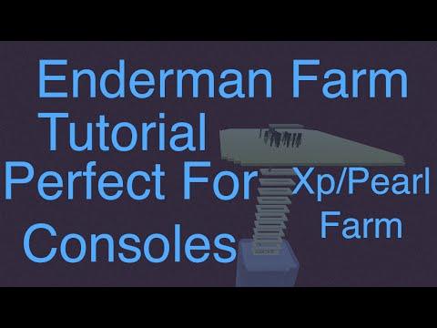 Best Enderman Farm Simple Cheap SUPER Efficient Xbox One Ps4 Pc