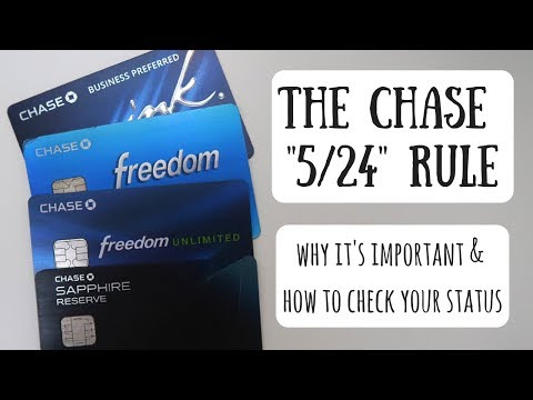 How to Check Your Chase 5/24 Status | Improve Your Chances for an Approval