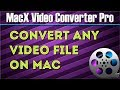 How To Convert Mp4 Mov Mp3 M4a Mkv Flv On Mac