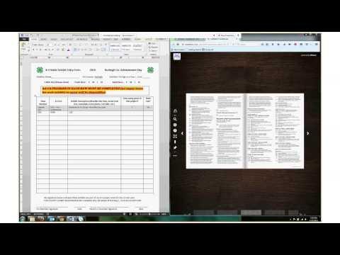 Cloverbud Registration video