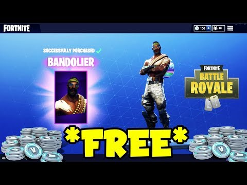 *NEW* HOW TO GET BANDOLIER FOR FREE On Fortnite Battle Royale! (Bandolier For Free)