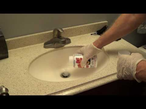 How to use Lye Drain Cleaner