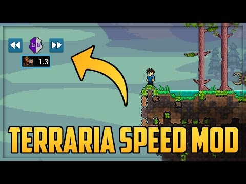 Terraria Android Mod Menu | GameKiller Speed Hack (Root Only)