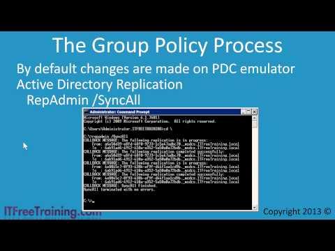 MCITP 70-640: Group Policy Optimization