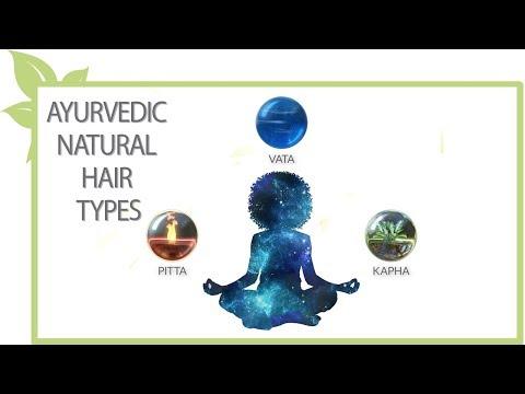 Ayurvedic natural hair types
