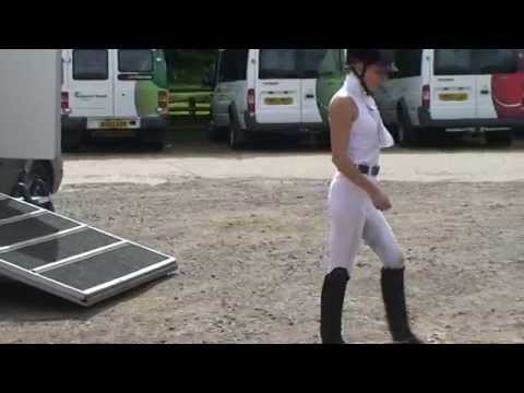 How to memorize a dressage test. See if it worked in the 2nd half of the video ;)