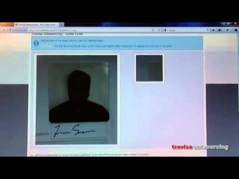 How to upload Photo and Signature