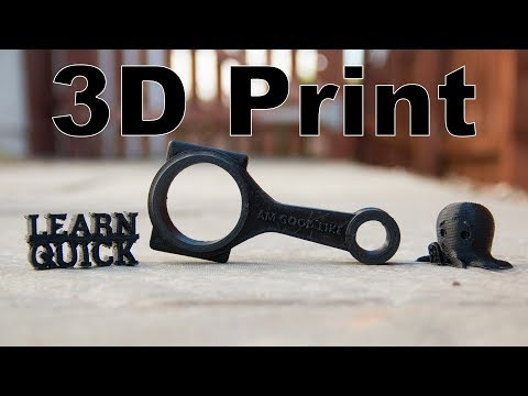 Learn to 3D Print || Learn Quick