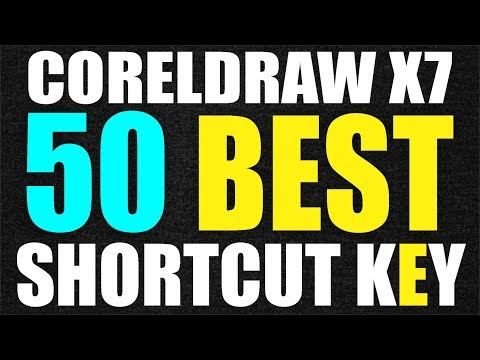 Coreldraw x7 Tutorial - 50 Best Shortcut key for Beginners Best Tips by AS GRAPHICS