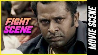 Madha Yaanai Koottam - Fight Scene   Kathir   Oviya   G. V. Prakash Kumar