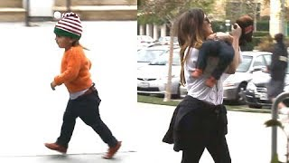 Mason Disick Tries To Run Away From Aunt Khloe! [2011]