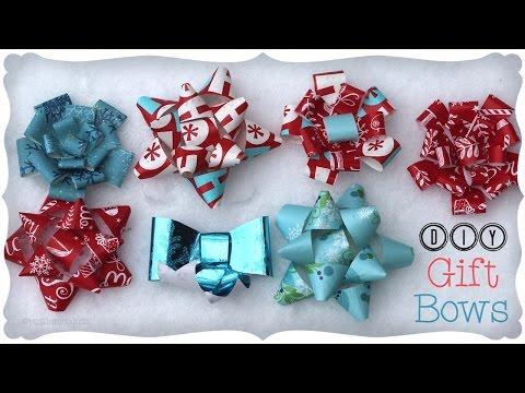 3 DIY Gift Bows | Craftmas 🎁