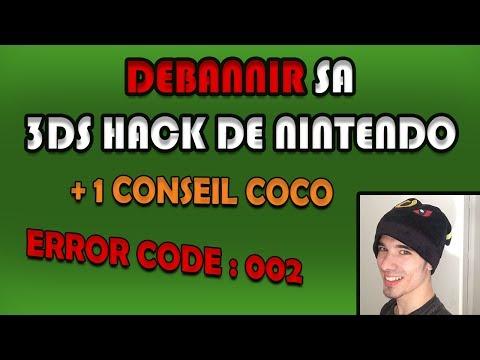 DEBANNIR SA 3DS HACK DE NINTENDO