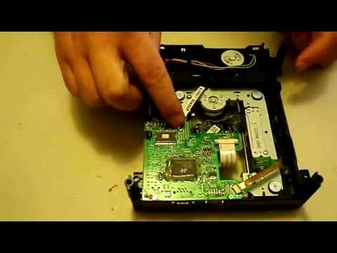 How to replace your Liteon DVD disc drive spindle motor. Xbox 360 FAT repair tutorial