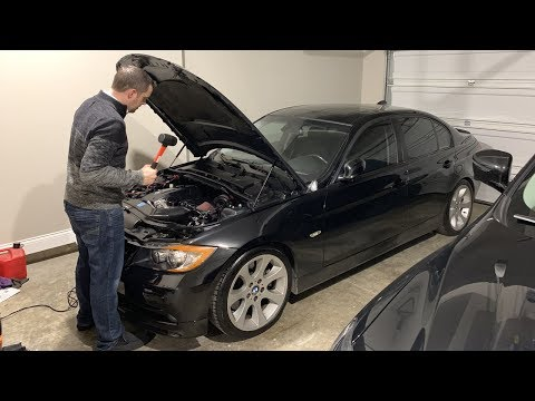 When You're Always Working On Your BMW....
