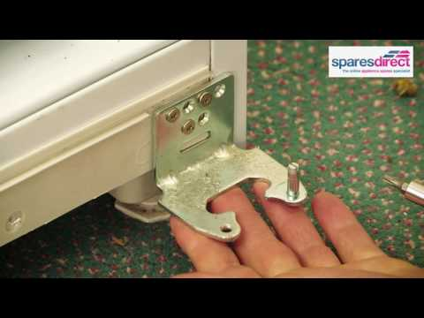 How to replace the Fridge Door Hinges | Oven Spares & Parts | 0800 0149 636