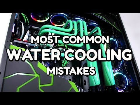 Top 10 Tips - Most Common PC Water Cooling Mistakes - Beginners and Advanced Guide