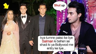 Ayyush Sharma's SHOCKING Reaction When Asked Why He MARRIED Salman Khan