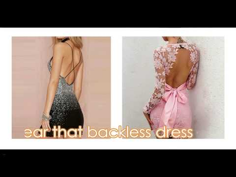 The Best Self adhesive Strapless Bra  - Wear That Backless Dress