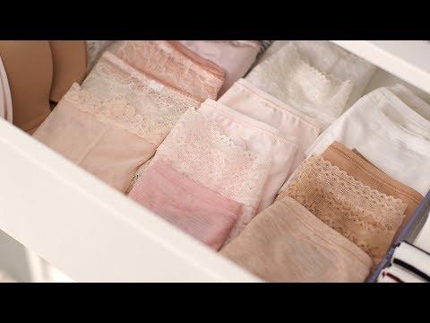 How To Organize an Underwear Drawer- Martha Stewart