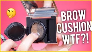 WORLDS FIRST BROW CUSHION! WTF! REVIEW AND WEAR TEST