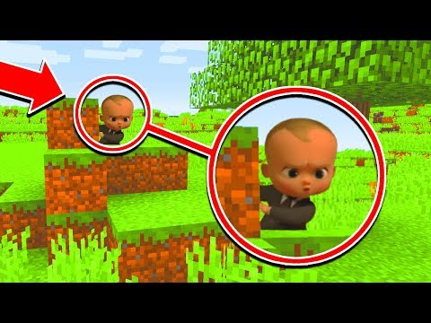Minecraft : SPYING ON THE BOSSBABY (Ps3/Xbox360/PS4/XboxOne/PE/MCPE)