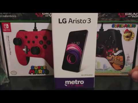 Metro by T-Mobile LG Aristo 3 Unboxing