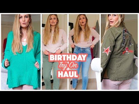 Birthday Try-On Haul!   Anna Saccone