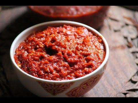 Homemade Chilli Garlic Paste. - Just 2 Ingredients