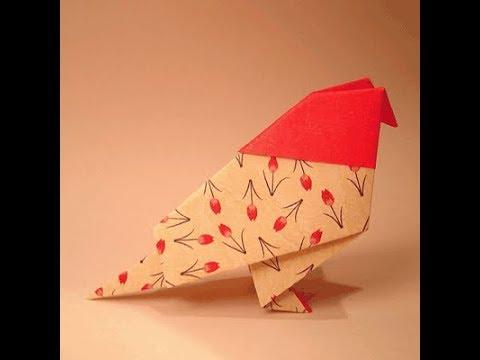 How to Make a Paper Bird ?